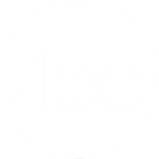 white bc button