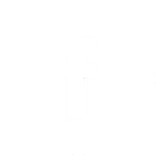 white facebook button